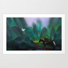 Link's Adventure Art Print