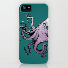 Mr. Octopus iPhone Case