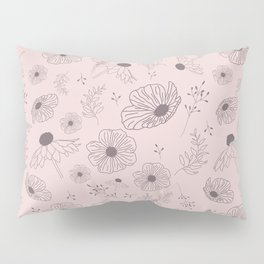Wildflower Pattern Pillow Sham