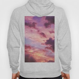 Pink and Purple Sunset (Color) Hoody
