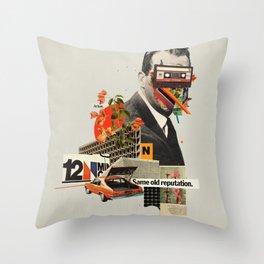 Same Old Reputation Throw Pillow