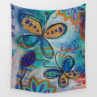 play Wall Tapestries featuring play by spinfinite designs