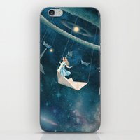 marianna iPhone & iPod Skins featuring My Favourite Swing Ride by Paula Belle Flores