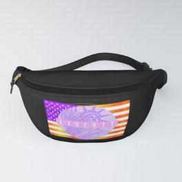 America Proud Usa Funny Fanny Pack