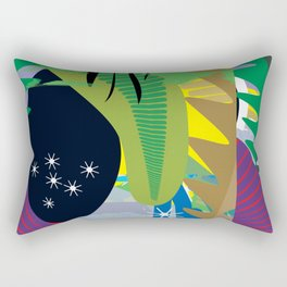 The Big Island Rectangular Pillow