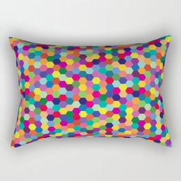 Geometric Pattern #3 Rectangular Pillow
