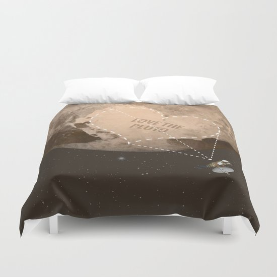 Love the Pluto Duvet Cover