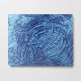 Blue Tornado Metal Print