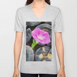just a lovely flower Unisex V-Neck
