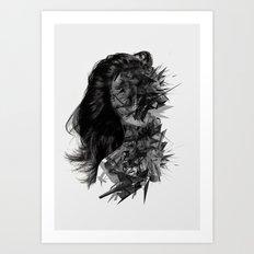 inner silence  Art Print