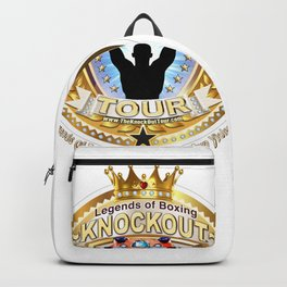 The Knockout Tour Champion Crest Backpack
