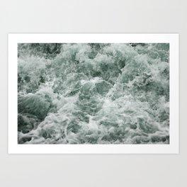 churn Art Print