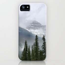 Misty Mountain Top iPhone Case