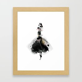 Glamour Girl Framed Art Print