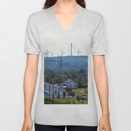 Turbine Hill Unisex V-Neck
