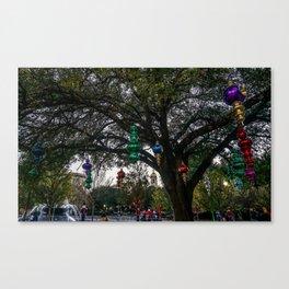 Christmas at Baylor University Canvas Print