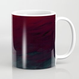 Inverted Fade Crimson Coffee Mug