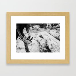 Montucky Framed Art Print