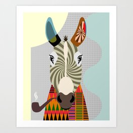Ass Donkey Art Print