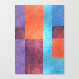 Abstract Geometric Space 1 Canvas Print