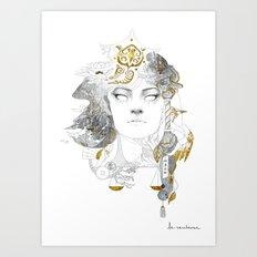 Korra II Art Print