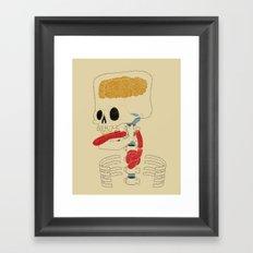 Square Skull...   Framed Art Print