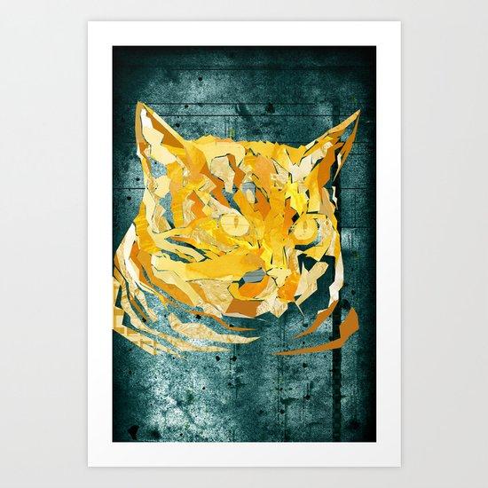 Wildcat Art Print