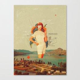 SunflowerMiss Canvas Print