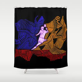 Soccer Girl Shower Curtain