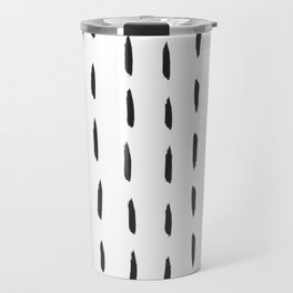 Lines like rain Travel Mug