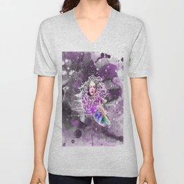 FISH GIRL Unisex V-Neck