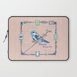 Lovely Sparrow - Mahjong Laptop Sleeve