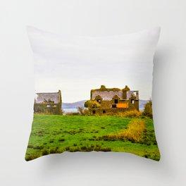 Irish Homestead Throw Pillow