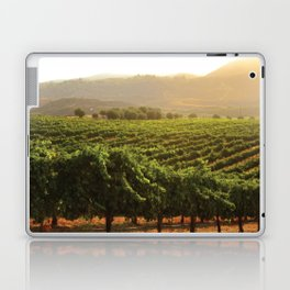 Wine Country Morning Laptop & iPad Skin