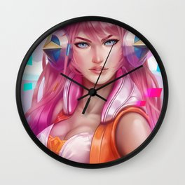 Miss Fortune Wall Clock