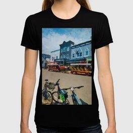 Mackinac Island Downtown T-shirt