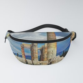 Ancient Ruins in Athens Greece Fanny Pack