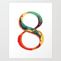 NeueFable 8 Art Print