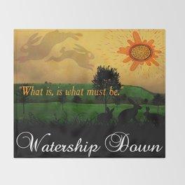 Watership Down Throw Blanket