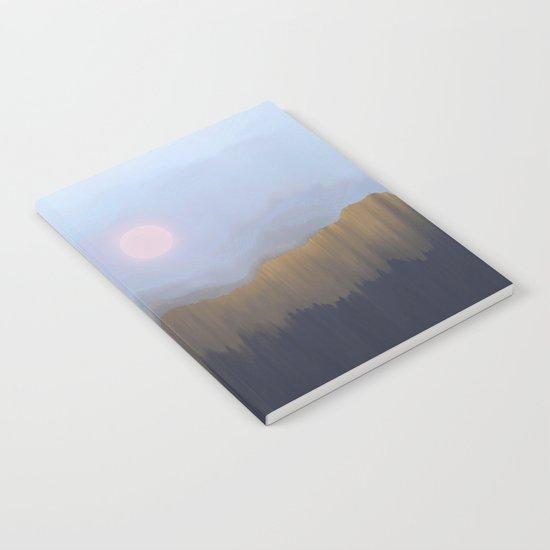 Winter Fog Notebook
