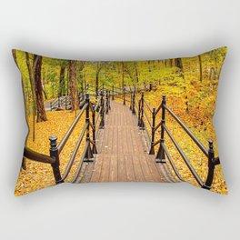 Canada, Forest Walking Trail Rectangular Pillow