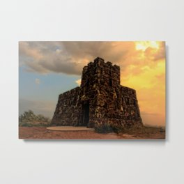 Coronado Heights Sunset Metal Print