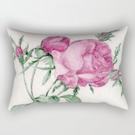 Rosa Centifolia Foliacea Rectangular Pillow