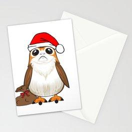 Santa Porg! (w/ beard) Stationery Cards