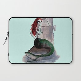 mermaid skull Laptop Sleeve
