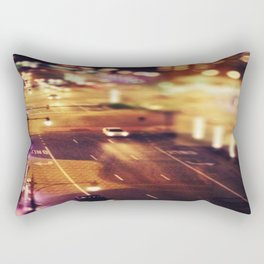 Blurred Lights Rectangular Pillow