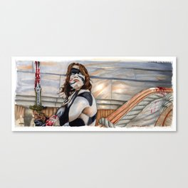 Conan the Barbarian - So this is Paradise Canvas Print
