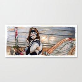 Conan the Barbarian - So this is Paradise Canvas Print