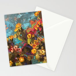 Cactus Abstraction Stationery Cards