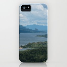 Columbia River Gorge From The Vista House iPhone Case